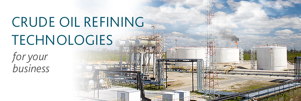 Crude oil refining technologies